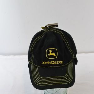 John Deere Black Hat, New with tags